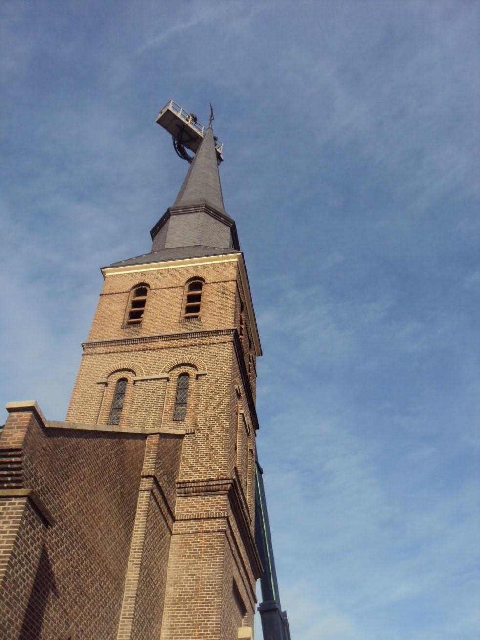 haan op de kerk